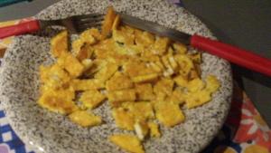 Tofu saltato in padella con verdure e riso 1