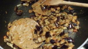 Seitan con melanzane in padella 3