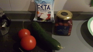 Insalata greca 1 ingredienti