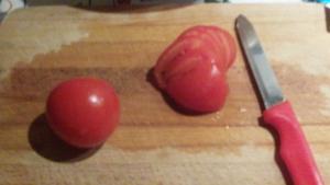 Insalata ravanelli pomodori - 1