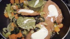 Bietole e bistecche di Muscolo di Grano in padella - copertina