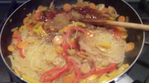 Spaghettini di riso alle verdure - 8