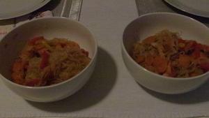 Spaghettini di riso alle verdure - copertina