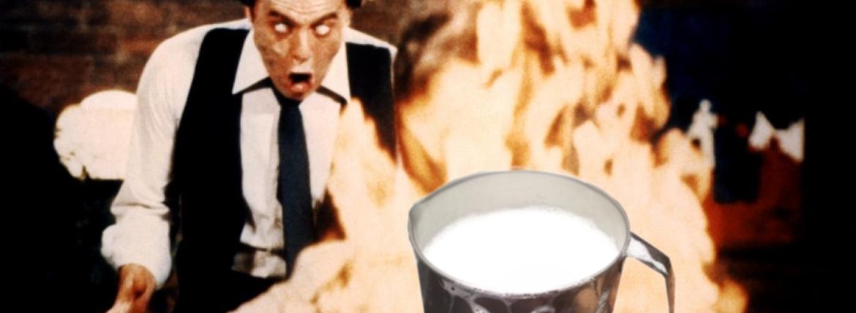 """Il Latte in """"Scanners"""" (1981) di David Cronenberg"""