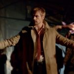 "Il Latte in ""Constantine"" (2014) con Matt Ryan"