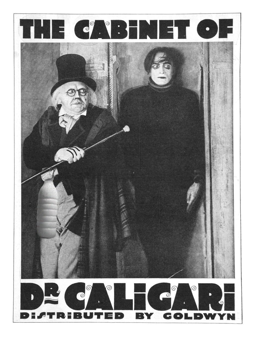 "Il Latte in ""The cabinet of dr Caligari"" di Robert Wiene (1920)"