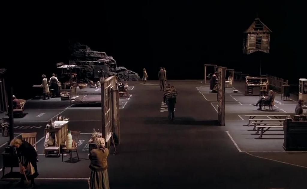 """Il Latte in """"Dogville"""" (2003) di Lars von Trier."""