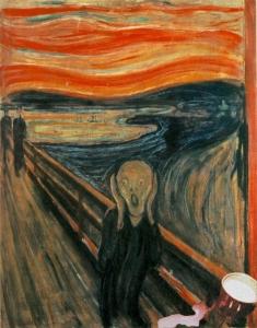 L'urlo di Munch: il Latte è venuto su!