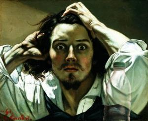 Il Latte e Uomo disperato di Courbet