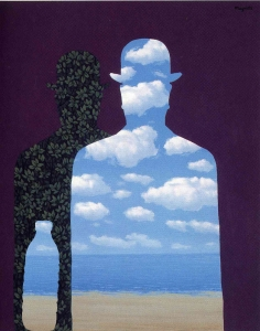 Il Latte in High Society di Magritte (1962)