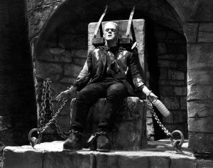 """Il Latte e Boris Karloff in """"The Bride of Frankenstein"""""""
