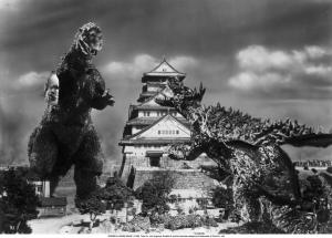 Latte con Anguirus e Godzilla
