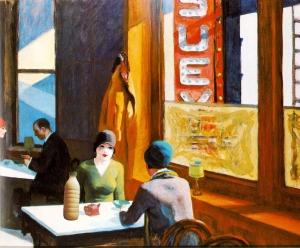 """Il Latte in """"Chop Suey"""" di Edward Hopper (1929)"""