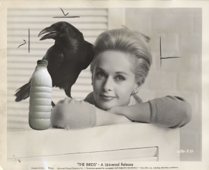 "Il Latte in ""The birds"" (1963) di Alfred Hitchcock con Tippi Hedren"