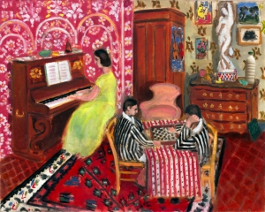 "Il Latte in ""Pianista e giocatori di dama"" (1924) di Henri Matisse"
