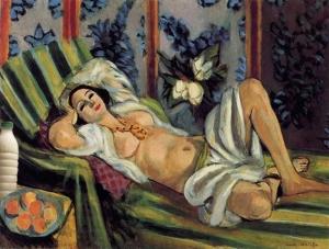 """Il Latte in """"Odalisca con le magnolie"""" (1924) di Henri Matisse"""