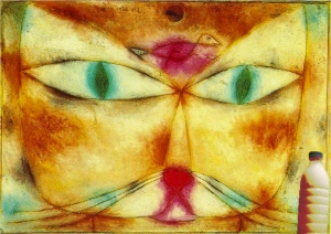 "Il Latte in ""Cat and Bird"" (1928) di Paul Klee"
