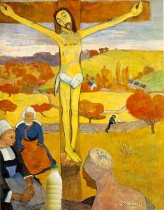 """Il Latte in """"Il Cristo giallo"""" di Paul Gauguin 1889"""