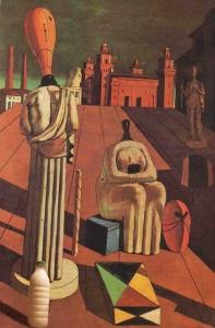 Il Latte Le Muse Inquietanti di de Chirico (1918)