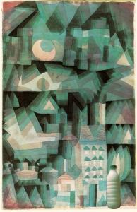 "Il Latte in ""Notte in città"" o ""Città di Sogno"" (Paul Klee, 1921)"