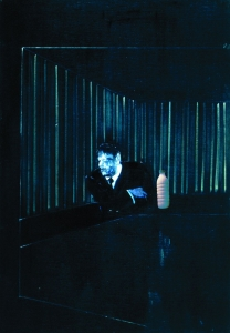 "Il Latte in ""Man in Blue I"" (Francis Bacon, 1954)"