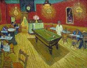 """Il Latte in """"Il caffè di notte"""" (1888) di Vincent Van Gogh"""