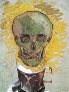 """Il Latte in """"Il teschio"""" (1886) di Vincent Van Gogh"""